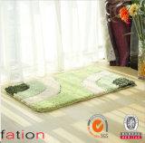 Le meilleur tapis de bain lavable de vente d'étage de couvre-tapis de Microfiber de polyester