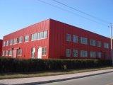 Здание стальной структуры модульное для технологии петролеума, химически и биологических