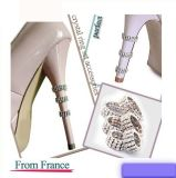 Fashion Rhinestone Shoe Ring Accessoires Zinic Alloy High Heel Protector
