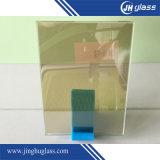 5mmの平らな深緑色の反射ガラス
