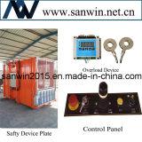 Élévateur de levage de construction de Sc100 20m/Min