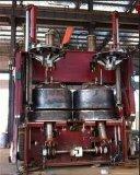 Máquina de borracha mecânica de 1665 moldes dobro para o pneumático que dá forma e que cura-se