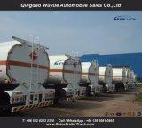 2 Aanhangwagen van de Tank van de Opschorting van de Lorrie van de as de de Semi of Tanker van de Vrachtwagen met Groot Volume 45000L