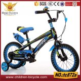 電気マウンテンバイク山の自転車を折っている中断子供