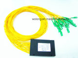 1X32 Sc APC Optic Fiber FTTH Splitter (Telecom, ABS Box, CATV)