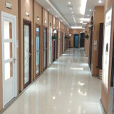 puerta interior de aluminio del marco de 1.0mm~2.0m m con diversos modelos