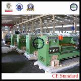 Máquina horizontal CD6260CX1500 del torno de la base del palique de la alta precisión