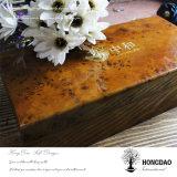 Bustine di tè di legno personalizzate di prezzi bassi di Hongdao che imballano il contenitore di regalo con il _E del rivestimento