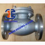 Válvula de verificação industrial da flange do elevador do ferro de molde de DIN/JIS