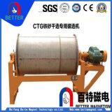 El separador magnético seco de la serie de Ctg/el separador magnético de la máquina magnética/del tambor mineral se diseña para el mineral de hierro de Magneticlean con precio competitivo
