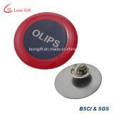 Pin de encargo material de la solapa del metal