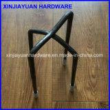 Ponta plástica que reforça a cadeira do Rebar do metal para o edifício