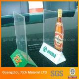 Acrylbildschirmanzeige-Menü-Standplatz/Plastikmenü-Halter für Gaststätte
