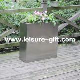 FO-9033 de Container van de Pot van de Installatie van de Tuin van het Roestvrij staal Ectangular