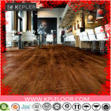 Lvt PVCビニールの床をかみ合わせる屋内および商業木製の穀物