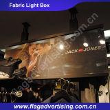 Rectángulo ligero del marco del cine de encargo de aluminio al por mayor de la tela LED