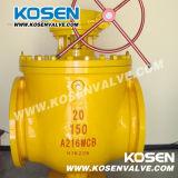 Vávula de bola de la entrada de la tapa del acero de molde (Q347F)