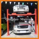 Mutrade auto que estaciona el estacionamiento simple del apilador del coche de cuatro columnas del poste 4