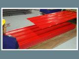 Pre-Painted строительным материалом лист оцинкованной волнистой стали (лист толя)
