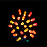Cadeado de Decoração de Cadeia de Luz de Natal LED com Artesanato de Vidro (LB100.5mm)