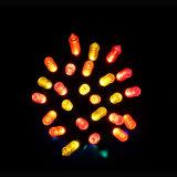 Подарок украшения шнура света рождества СИД с стеклянным кораблем (LB100.5mm)
