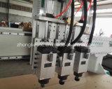 Drei Kopf-ändernder Scherblöcke CNC-Selbstfräser