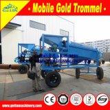 10-20 equipo aluvial de la minería aurífera de Tph, máquina móvil Gl615 de la minería aurífera