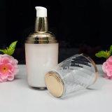 De witte Plastic die Fles van de Douane van de Kleur in Acryl wordt gemaakt (NST58)
