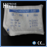 Hohes Grade Surgical Disposable Sterile Tracheotomy Tube mit Cuff für Nasal Use