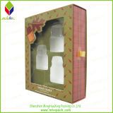 PVC Window를 가진 크리스마스 Paper Candle Packaging Box
