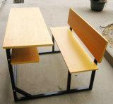 Großhandelsklassenzimmer-Möbel-Doppelt-Prüftisch-Primärschule-Kursteilnehmer-Schreibtisch-Stuhl