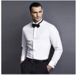 Van de bedrijfs slanke Geschikte Witte Katoenen Mensen van Overhemden Overhemd