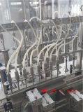 Máquina de enchimento e enchimento de líquidos para líquido de xarope