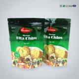 Folien-wiederversiegelbarer Fastfood- Beutel-lamellierter Plastiknahrungsmittelbeutel