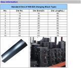 Máquina que prensa lateral calificada Ce Km-85A-51 del manguito que introduce