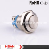 Gq16h-10/J 16mm Momentary Push Button avec Screw Terminal