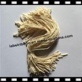 Étiquette de coup de joint de chaîne de caractères de Coton-Lin textile (HT036)