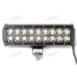 12V 9inch 54W 크리 말 Dual Row LED Car LED Light Bar