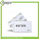 Smart card plástico em branco de ISO14443A MIFARE DESFire EV1 EV2