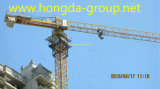 Hongdaの16トンロードが付いているニースの品質のタワークレーン