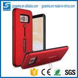 Boîtier de téléphone 2 en 1 avec support pour téléphone portable pour iPhone 6 / 6s