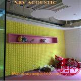 Panneau de mur décoratif de panneau de plafond de décoration d'absorption saine de revêtement de mur de panneau de mousse acoustique