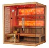 호화스러운 유럽식 좋은 품질은 노란 비취 M-6048를 가진 무게 건조한 Sauna를 분실한다