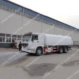 Sinotruk 10/15/20대의 m3 물 유조선 6X4 물 트럭 물 물뿌리개 트럭