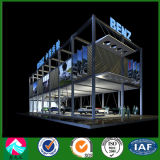 De geprefabriceerde 4s Zaal van de Tentoonstelling van de Structuur van het Staal van de Winkel