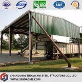 Edifício comercial da construção de aço para o dossel da estrada de ferro