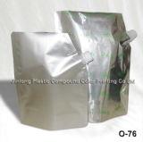 Il commercio all'ingrosso del fornitore si leva in piedi in su il sacchetto liquido della spremuta della bevanda, sacchetto su ordinazione di imballaggio di plastica con il becco