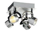 Lampe de plafond de groupe de Phine avec le pendant en verre PC-0045 d'ombre