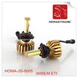 12months Warrnty 3600lm per faro automatico 9005 (HB3) 9006 del faro automatico dell'automobile ETI LED della lampadina (HB4)