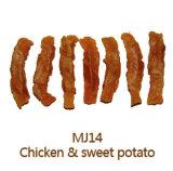 Здоровое обслуживание цыпленка & собаки сладкого картофеля